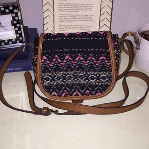 Cross-Body Tribal Print Purse